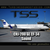 TURBINE SOUND STUDIOS - TSS CRJ-200 GE-CF34 SOUNDPACK FOR FS2004