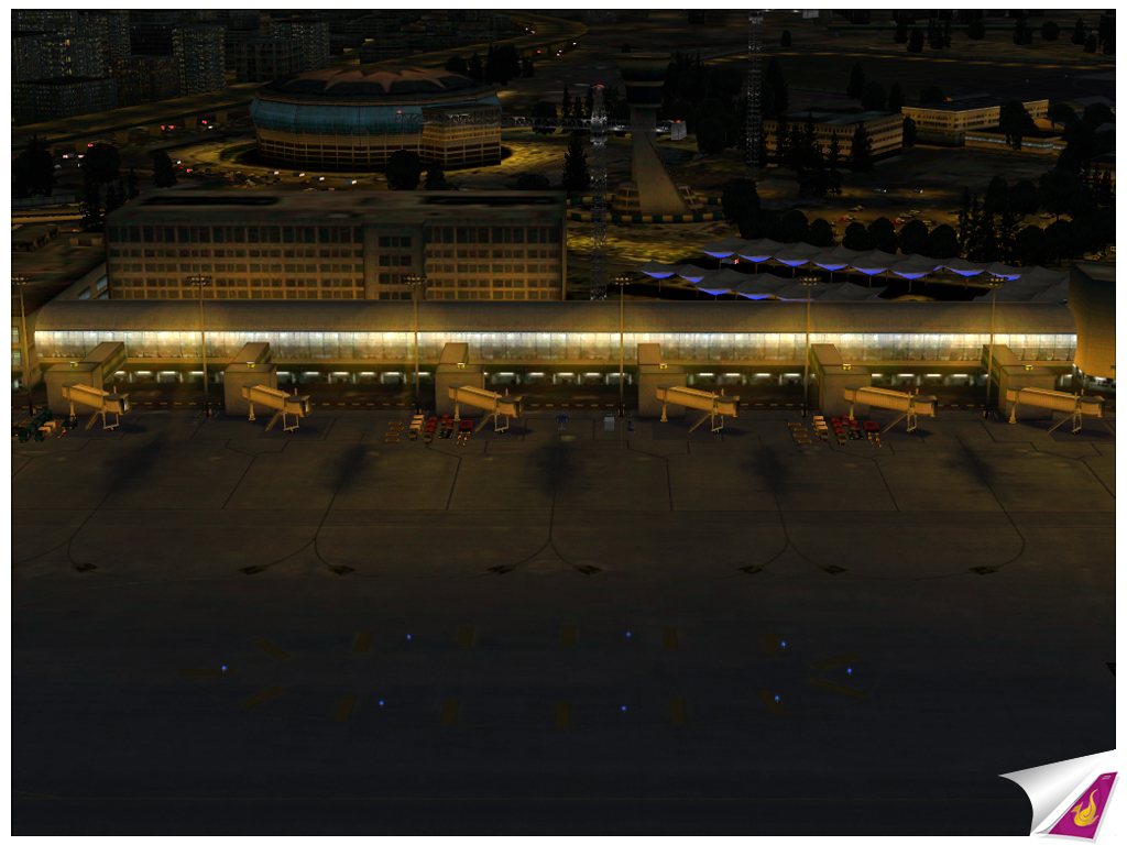 THAI CREATION - NAMASTE MUMBAI : CHHATRAPATI SHIVAJI INTERNATIONAL AIRPORT FSX