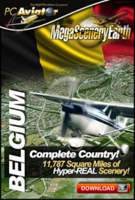 MEGASCENERYEARTH - PC AVIATOR - MEGASCENERY EARTH - BELGIUM FSX P3D