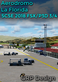GOLDEN RETRIEVER PILOT DESIGN - GRP DESIGN - 智利-拉佛罗里达机场 SCSE 2018 FSX P3D