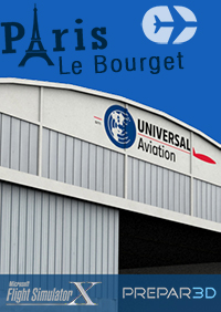 SIMCREATIONS - PARIS LE BOURGET FSX P3D3-5