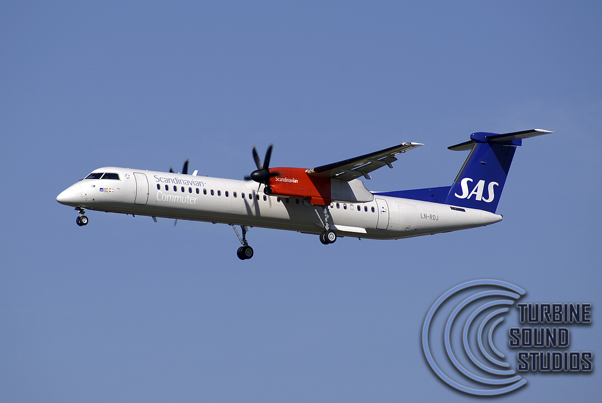 TURBINE SOUND STUDIOS - DASH 8 Q400 HD SOUNDPACK FOR FS2004