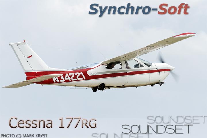 SYNCHRO-SOFT - CESSNA 177 CARDINAL SOUNDSET FSX