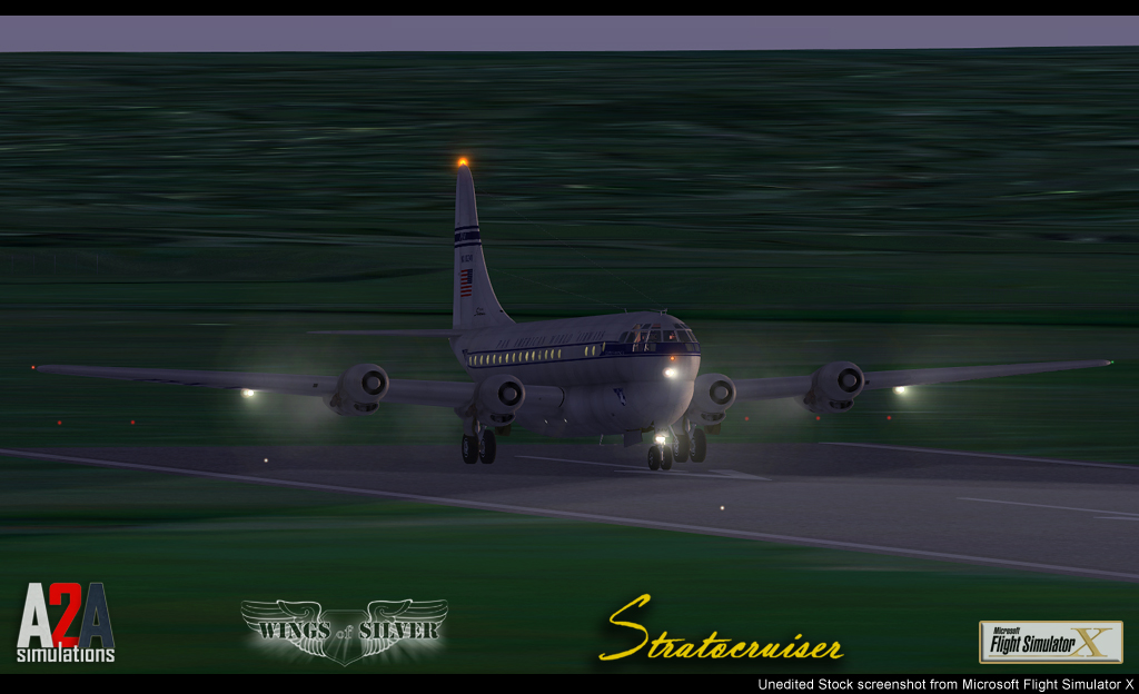 A2A SIMULATIONS - CAPTAIN OF THE SHIP B377 FSX