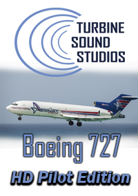 TURBINE SOUND STUDIOS - BOEING 727 HD PILOT EDITION SOUNDPACK FOR FS2004