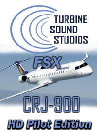 TURBINE SOUND STUDIOS - CRJ-900 HD PILOT EDITION SOUNDPACK FOR FSX