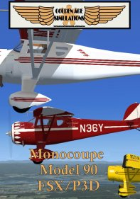 GOLDEN AGE - MONOCOUPE MODEL 90 FSX P3D