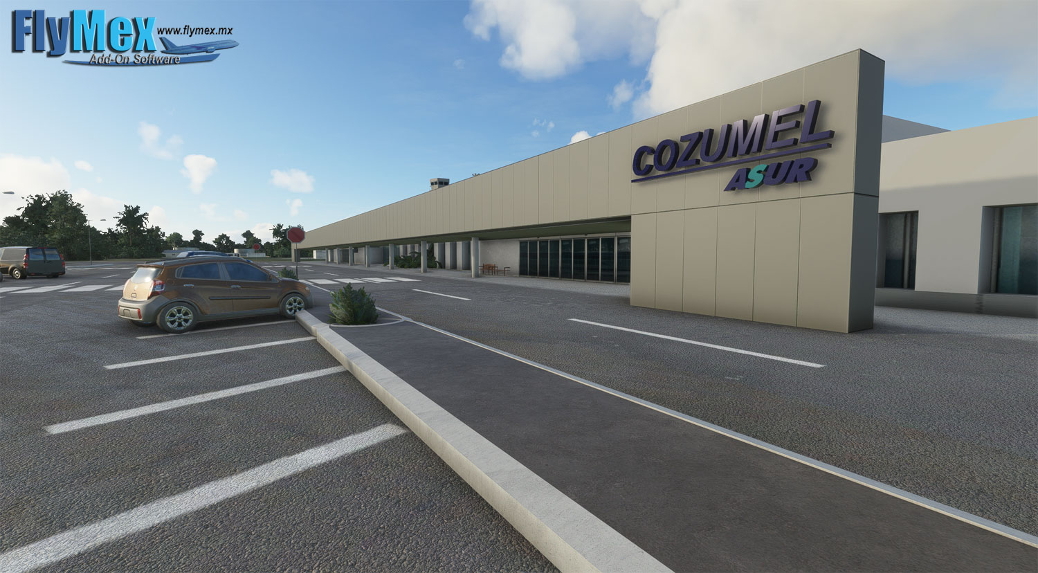 FLYMEX SOFTWARE - COZUMEL INTERNATIONAL AIRPORT - MMCZ MSFS