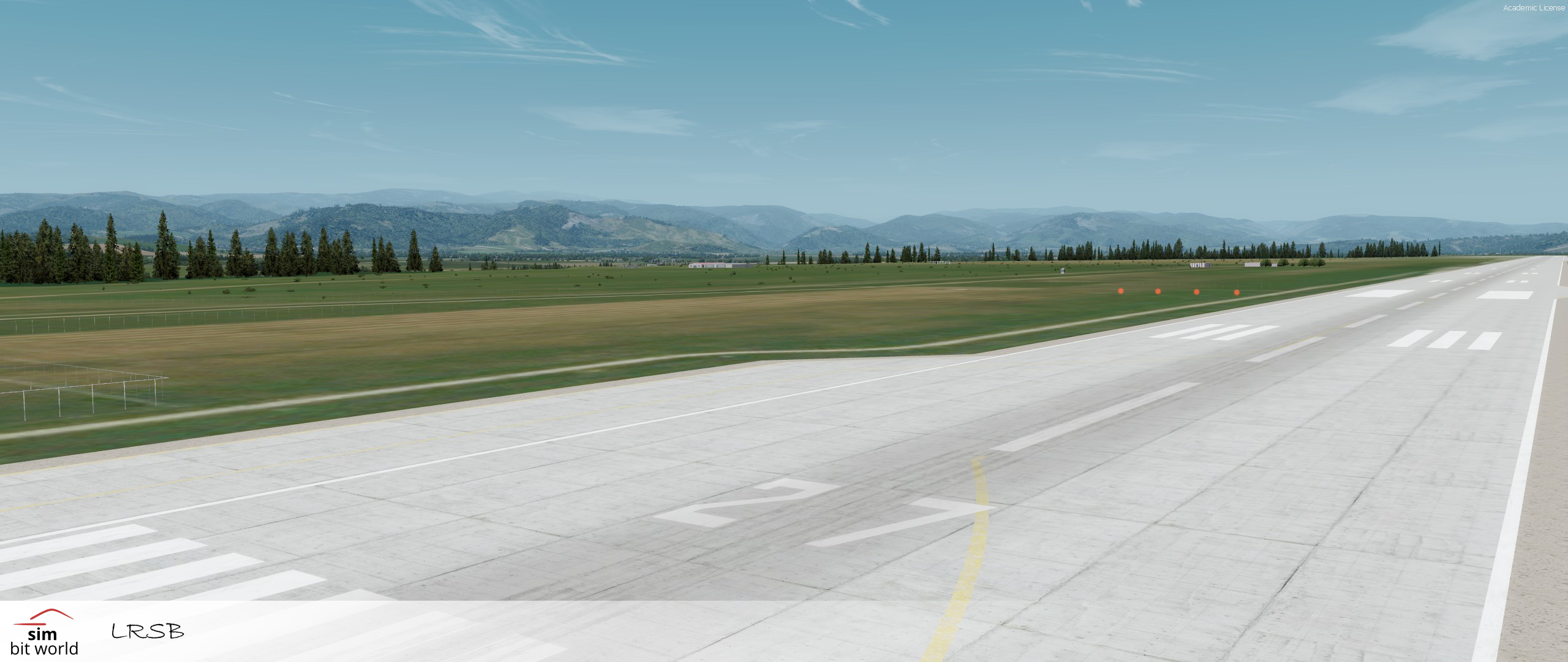 SIMBITWORLD - SIBIU INTERNATIONAL AIRPORT LRSB P3D4