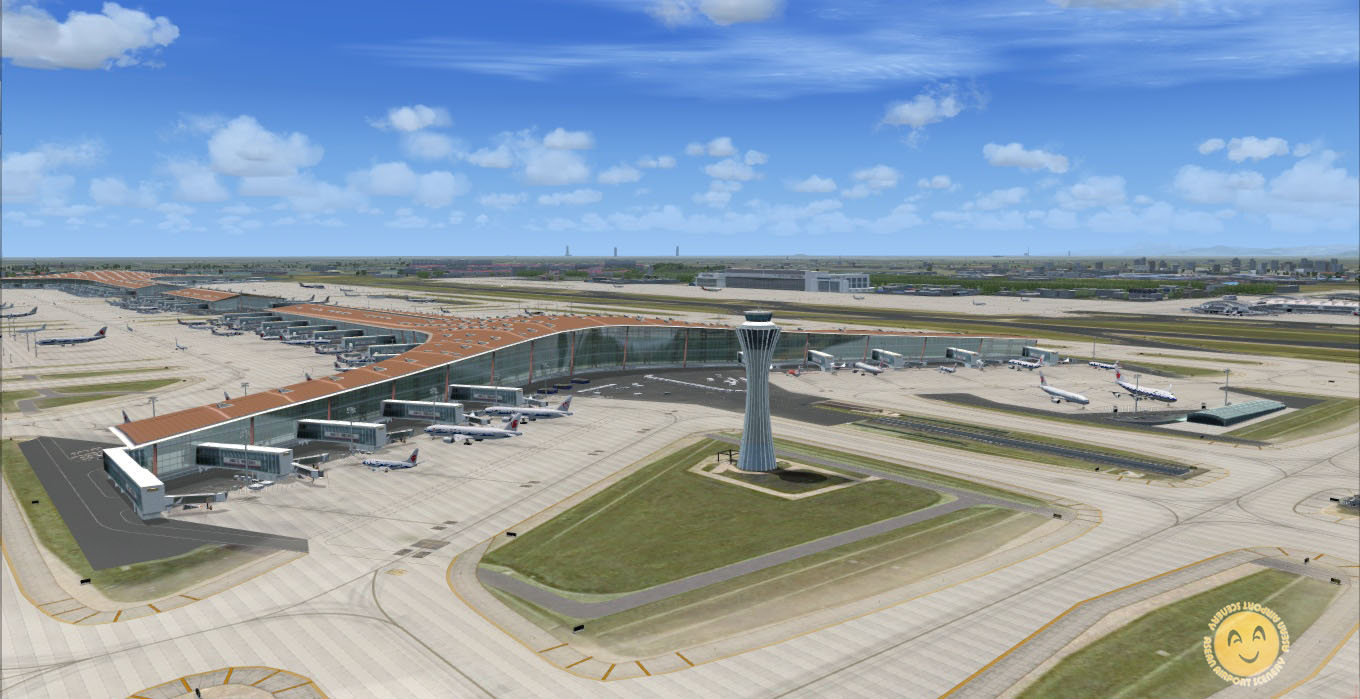 A_A SCENERIES - BEIJING INTERNATIONAL AIRPORT ZBAA FSX P3D