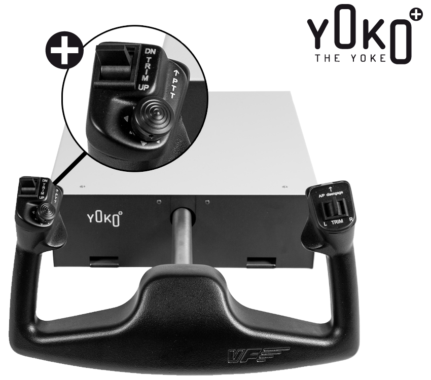 VIRTUALFLY - YOKO: THE YOKE FOR FLIGHT SIMULATOR