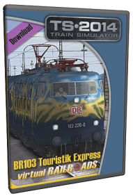 VIRTUAL RAILROADS - DB BR103 TOURISTIK EXPRESS