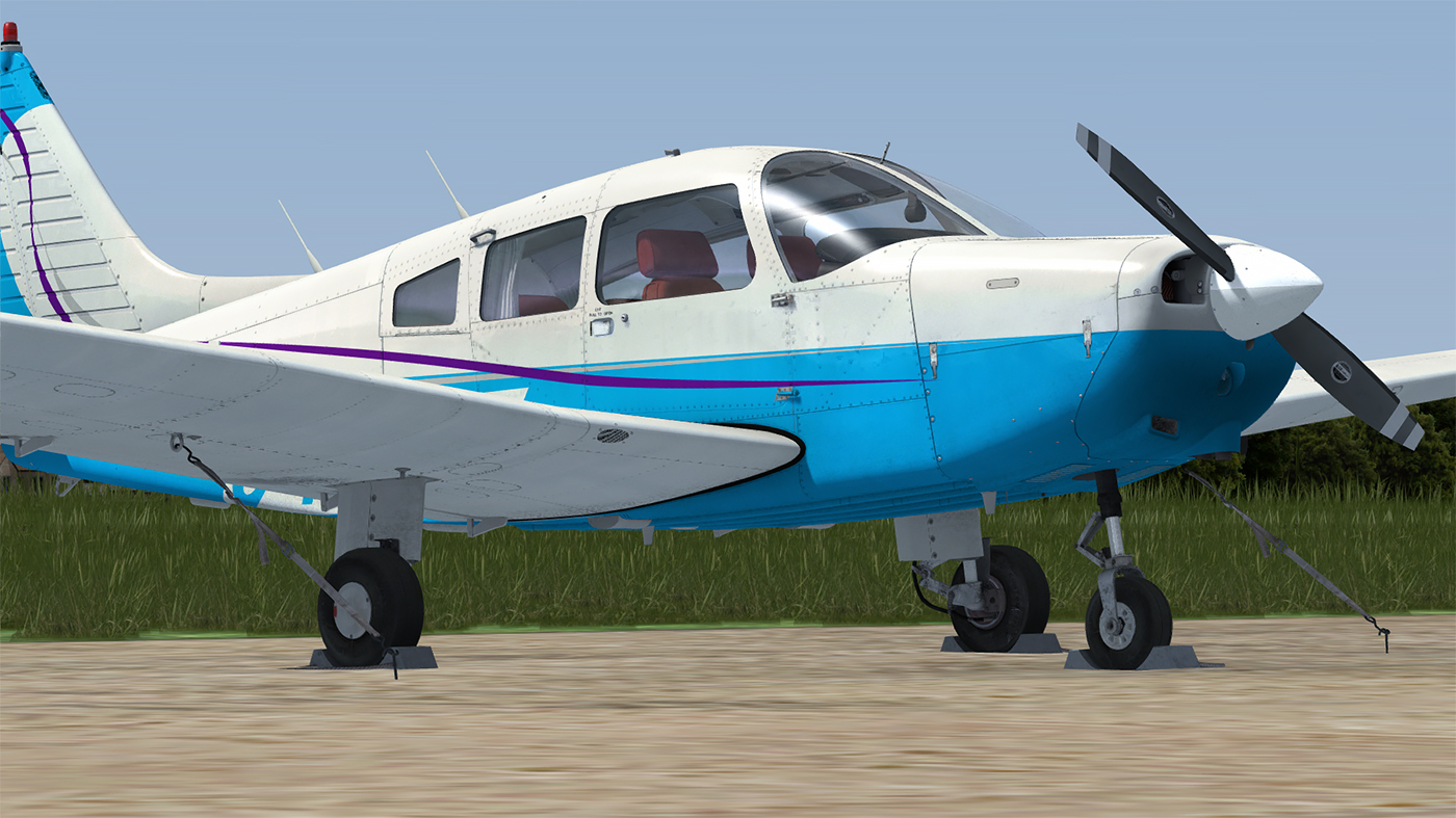 JUSTFLIGHT - PA-28-161 WARRIOR P3D