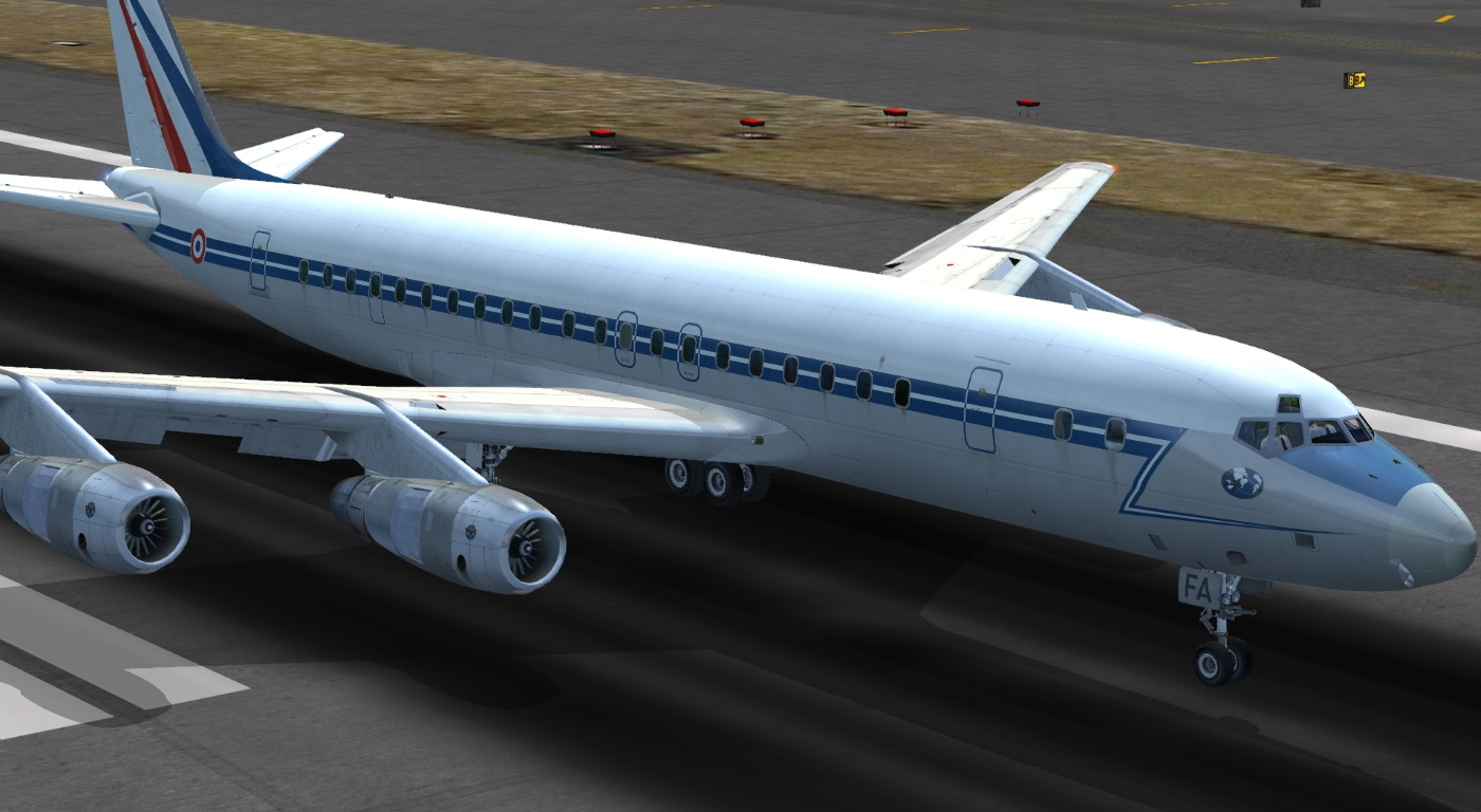 JUSTFLIGHT - DC-8 JETLINER SERIES 50-70 LIVERY PACK 1 FSX P3D