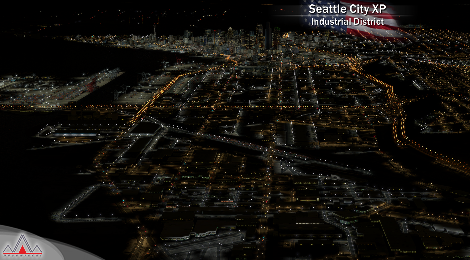 DRZEWIECKI DESIGN - SEATTLE CITY XP X-PLANE 11