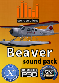 SONIC SOLUTIONS - BEAVER DHC2 SOUND PACK V2