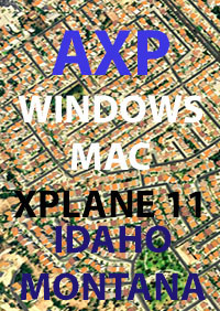 TABURET - AXP IDAHO AND MONTANA X-PLANE 11