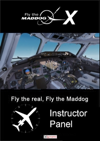 LEONARDO SOFTWARE - FLY THE MADDOG X INSTRUCTOR PANEL P3D4 P3D5