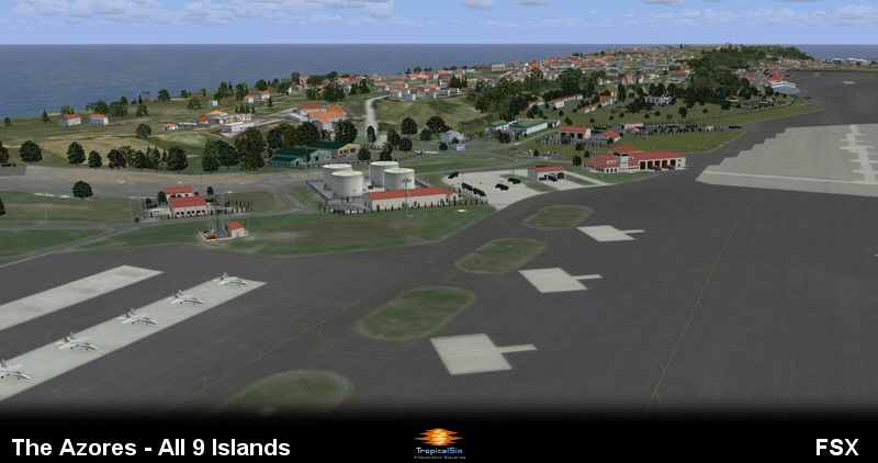 TROPICALSIM - THE AZORES FSX P3D/FS2004