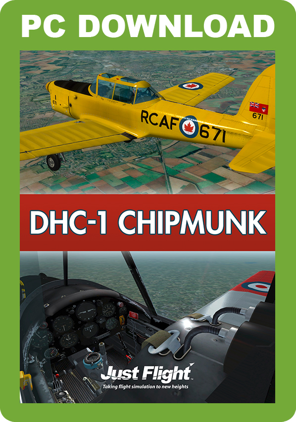 JUSTFLIGHT - DHC-1 CHIPMUNK