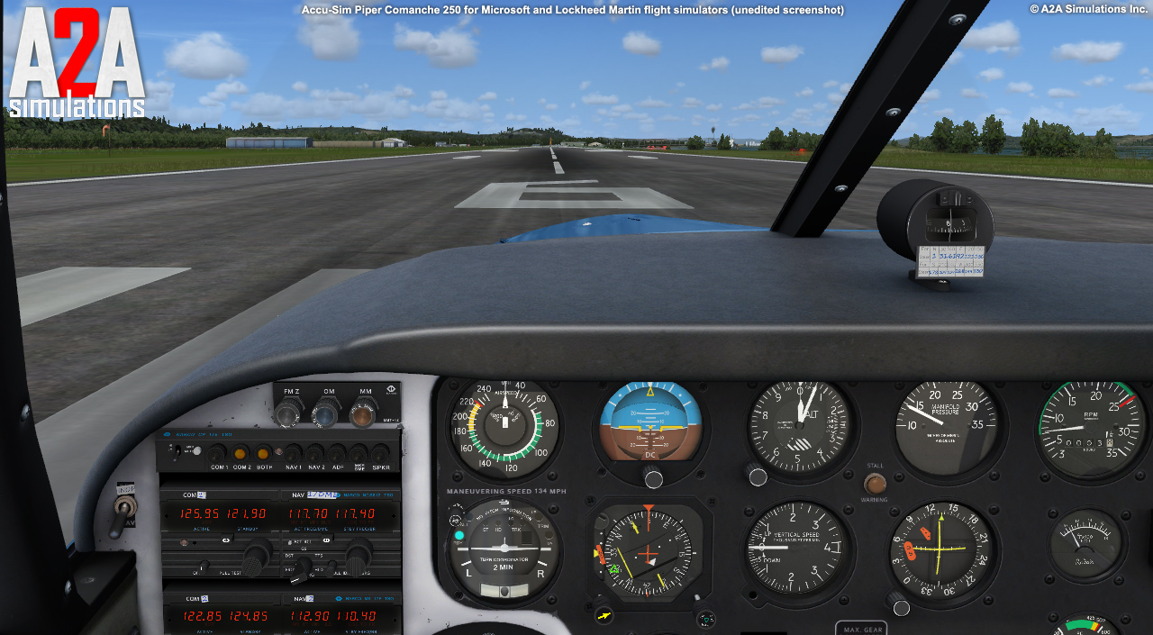 A2A SIMULATIONS - COMANCHE 250 FSX ENTERTAINMENT