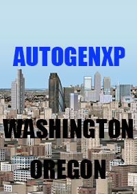 TABURET - AUTOGENXP WASHINGTON AND OREGON X-PLANE 10/11