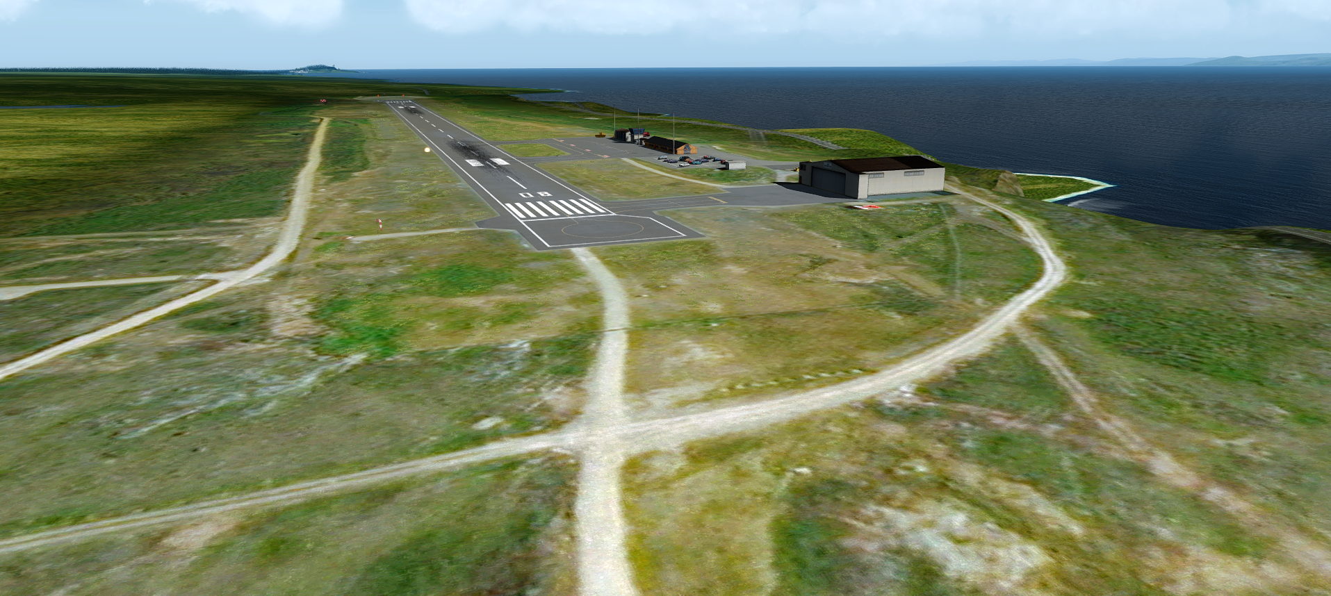 IRONSIM - VADSO AIRPORT P3D4