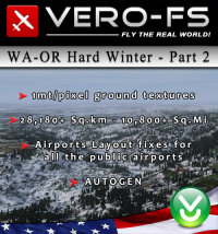 VERO - WASHINGTON-OREGON PHOTOREAL - HARD WINTER - PART 2