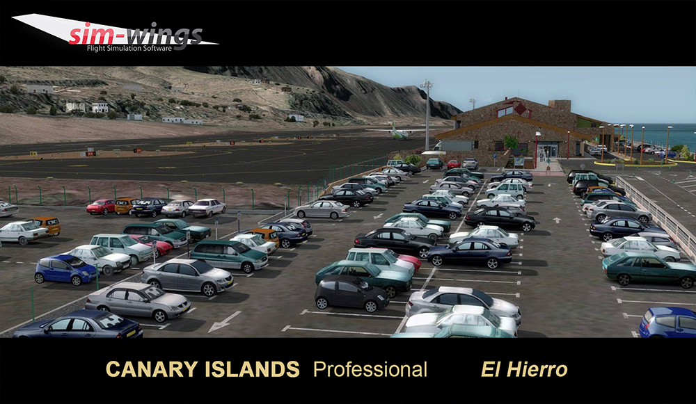 AEROSOFT - CANARY ISLANDS PROFESSIONAL - EL HIERRO P3D4