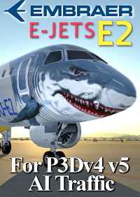 FSPXAI - EMBRAER E-JET E2 FOR P3DV4V5 AI-TRAFFIC