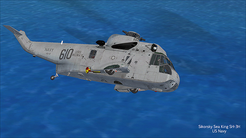 VIRTAVIA - WESTLAND/SIKORSKY SEA KING FSX
