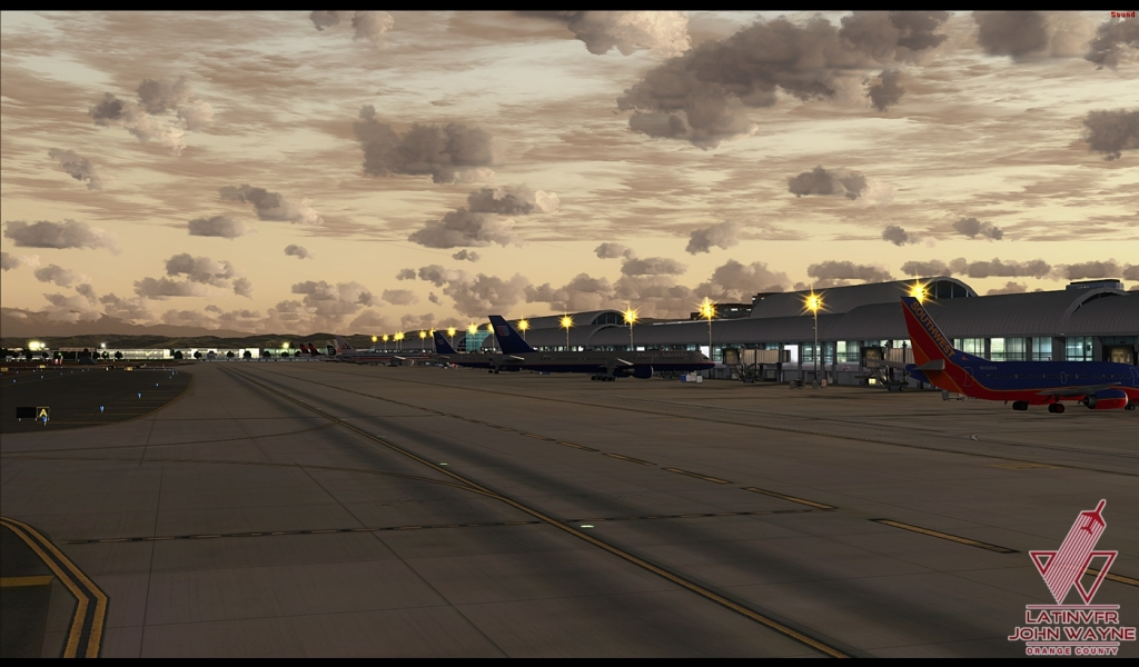 LATINVFR - ORANGE COUNTY JOHN WAYNE KSNA FSX P3D FS2004