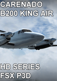 CARENADO - B200 KING AIR HD SERIES FSX P3D