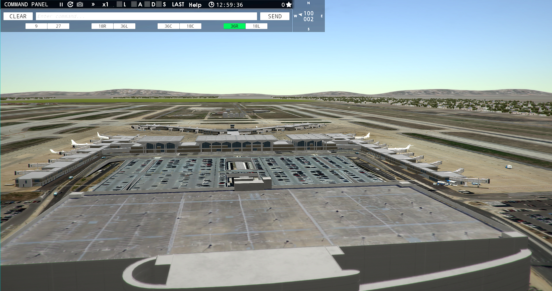 NYERGES DESIGN - KMEM AIRPORT FOR TOWER! 3D