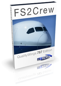 FS2CREW - QUALITYWINGS 787 EDITION FSX P3D