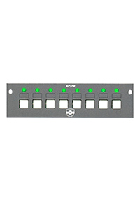 P8 8-PUSHBUTTON SWITCH MODULE (GREY)