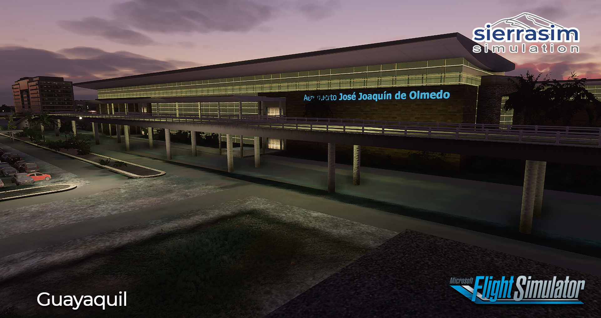 SIERRASIM SIMULATION - SEGU JOSE JOAQUIN DE OLMEDO INTERNATIONAL AIRPORT MSFS