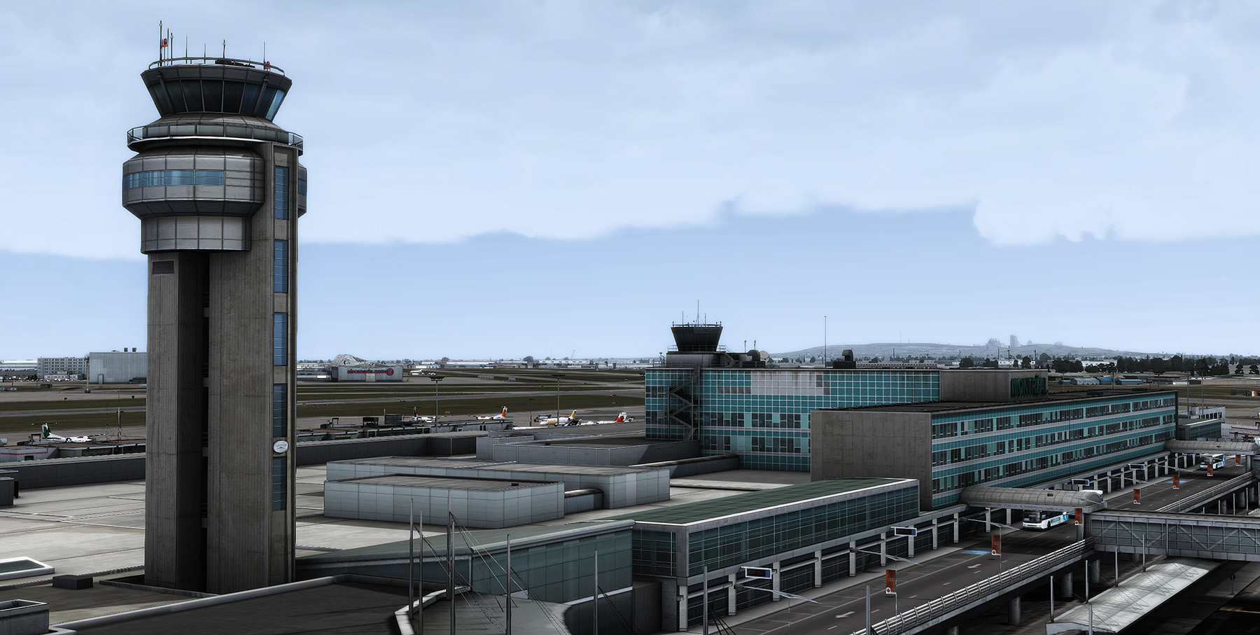 FLYTAMPA - LEGACY - MONTREAL FS2004 FSX