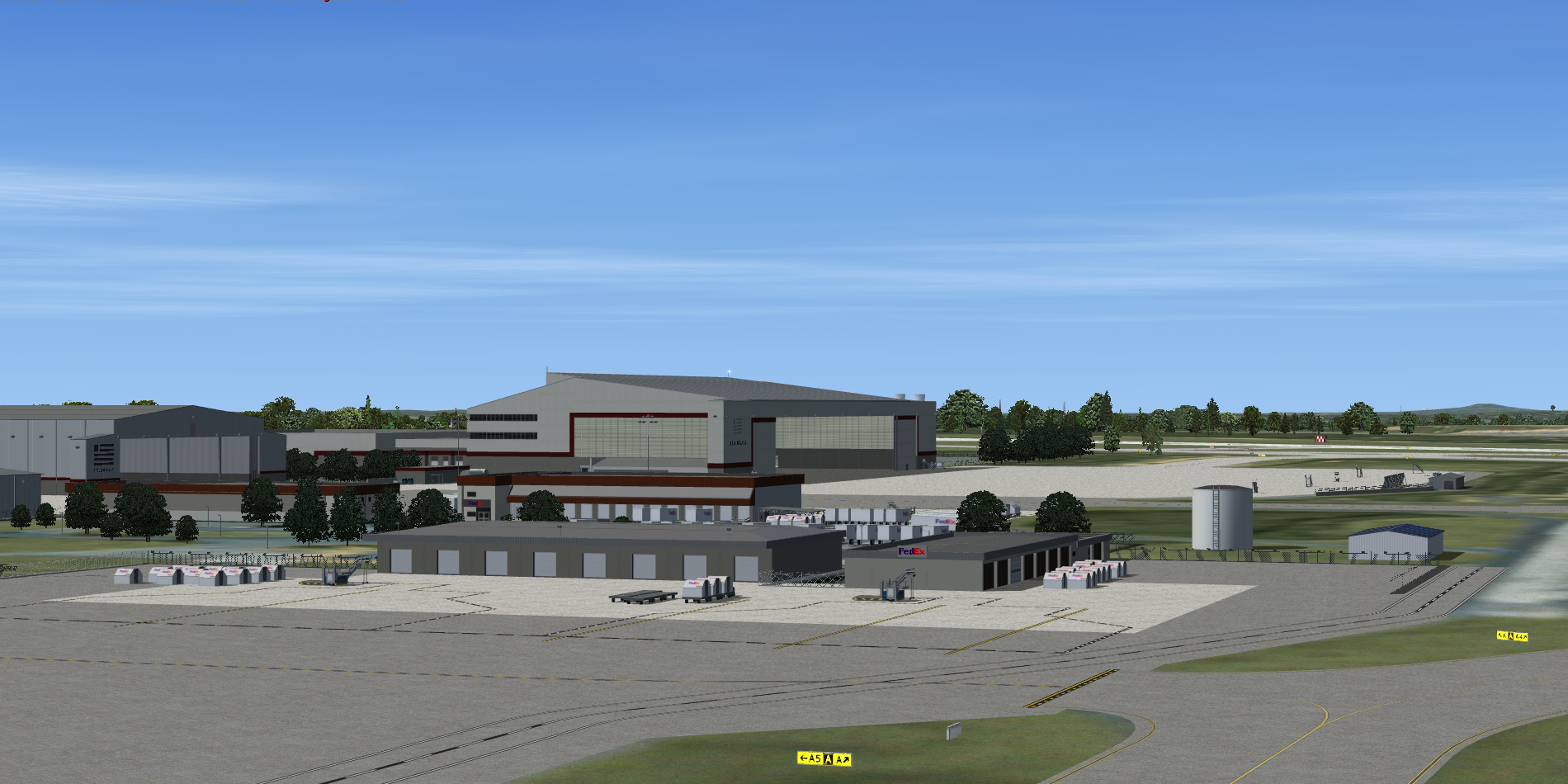 BLUEPRINT - KCLT CHARLOTTE-DOUGLAS INTERNATIONAL FSX P3D