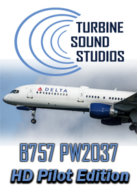TURBINE SOUND STUDIOS - BOEING 757 PW2037 PILOT EDITION HD SOUNDPACK FOR FS2004