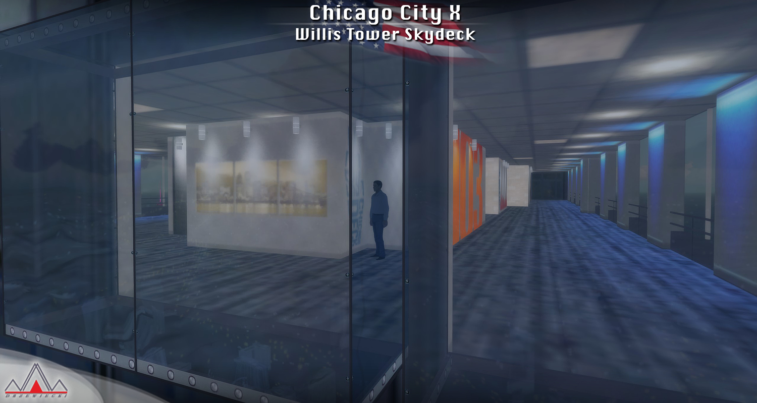 DRZEWIECKI DESIGN - CHICAGO CITY X  FSX P3D FSW
