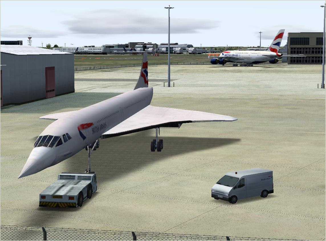 UK2000 SCENERY - HEATHROW XTREME V3