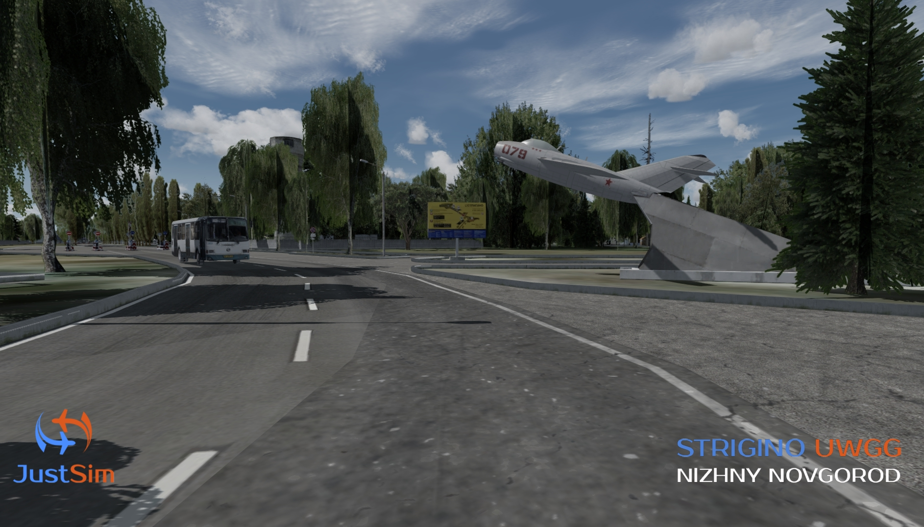 JUSTSIM - STRIGINO - NIZHNY NOVGOROD INTERNATIONAL AIRPORT FSX P3D