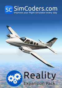 SIMCODERS - REALITY EXPANSION PACK FOR CARENADO'S BEECHCRAFT BARON B58 X-PLANE 10