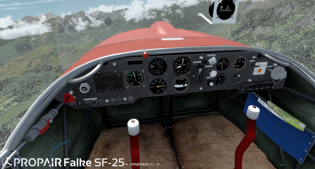 PROPAIR FLIGHT - FALKE SF-25 PACK P3D4