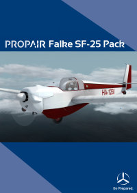 PROPAIR FLIGHT - FALKE SF-25 机模套装 P3D4