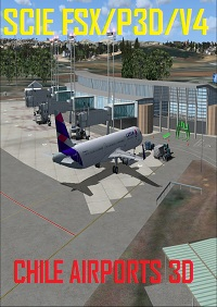 CHILE AIRPORTS 3D - FSX/P3DV4 SCIE CARRIEL SUR CONCEPCION CHILE