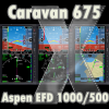 FRIENDLY PANELS - CESSNA CARAVAN 675 EXECUTIVE ASPEN EFD1000/500
