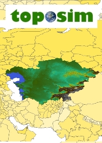 TOPOSIM - CONTINENTS - CENTRAL ASIA BUNDLE