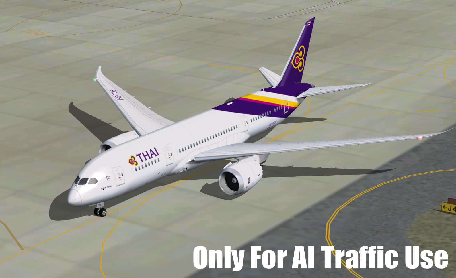FSPXAI - BOEING 787-8 AND -9 FOR FS2004 AI-TRAFFIC